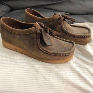 Clark's Original Wallabee shoes